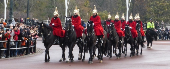 Horse guard at Buckingham