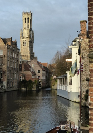 Tower and canal