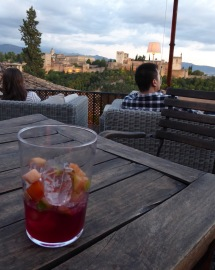 Sangria with Alhambra