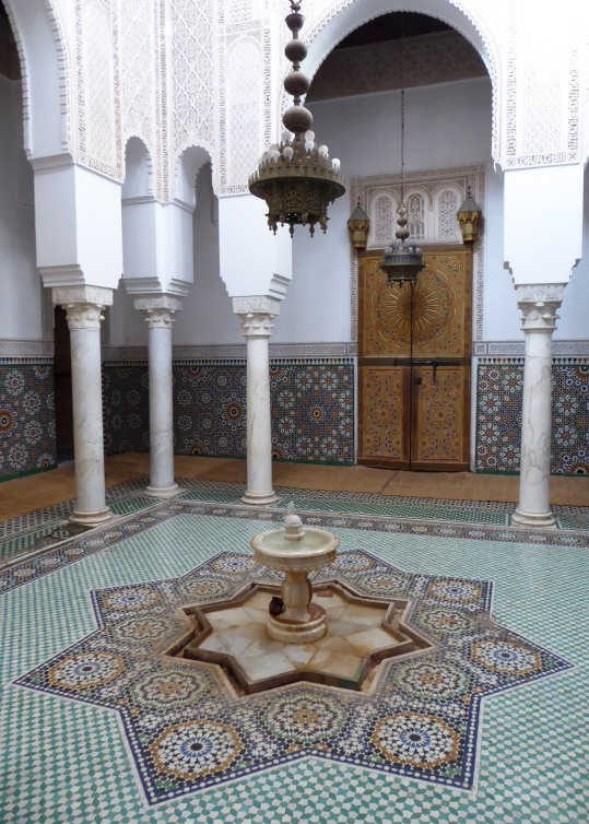 Moorish courtyard