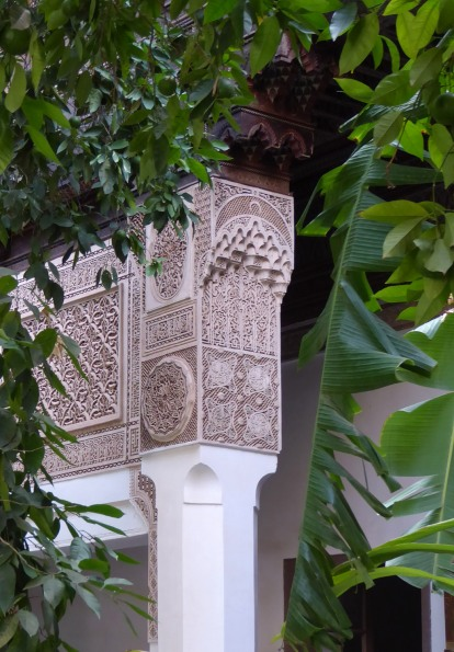 Moorish pillar